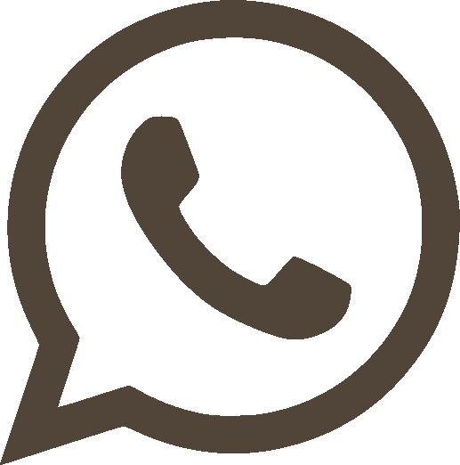 Whatsapp logo grijs
